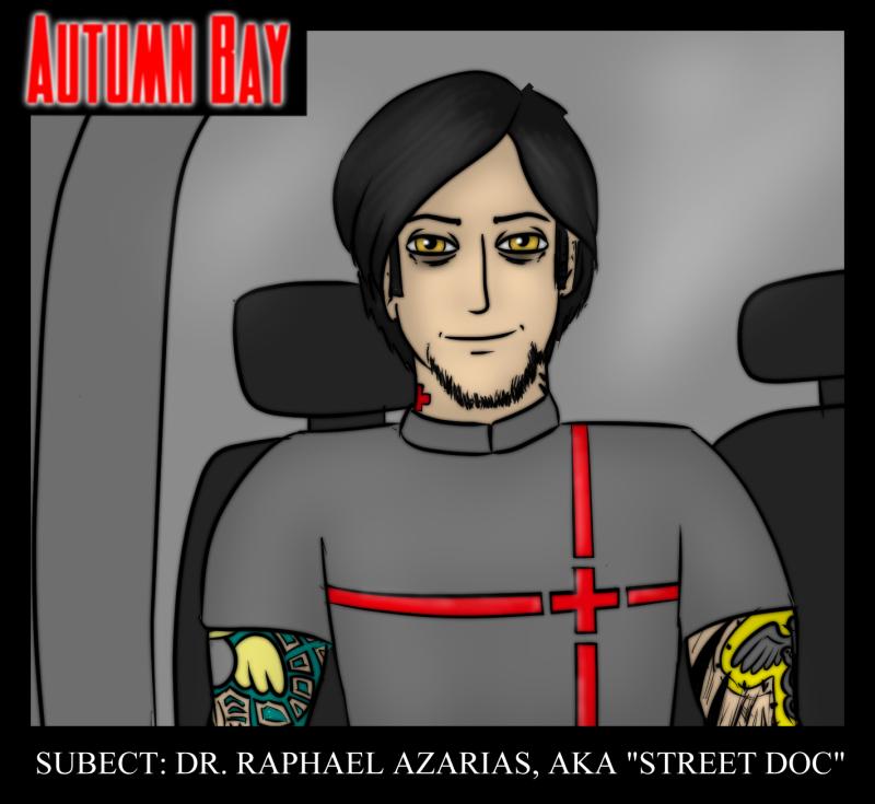 "14 April 2016 - Dr. Raphael Azarias, aka ""Street Doc"""